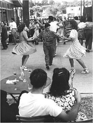 Robert Doisneau fete bal