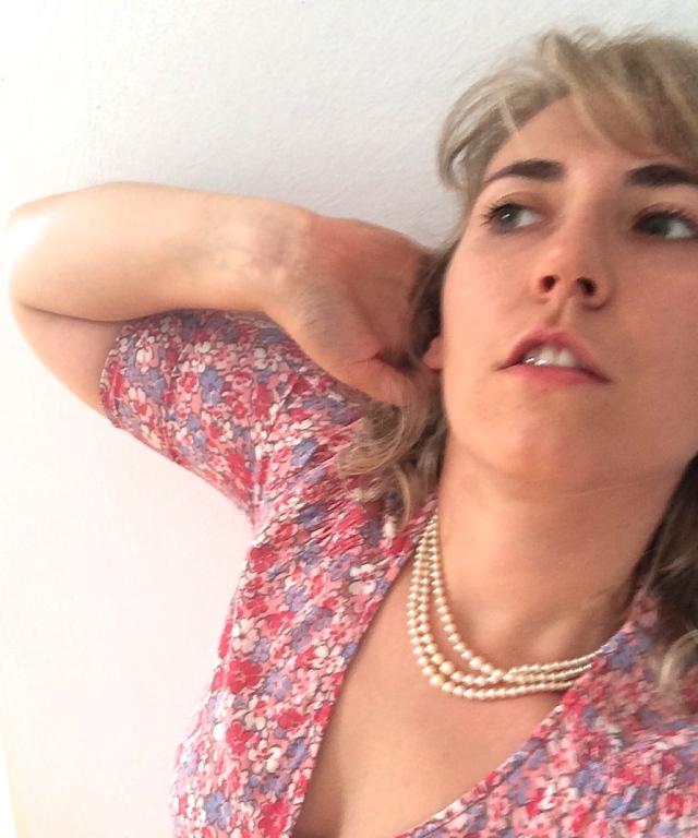 zaffiro, anello,collana perle, vintage, chic, elegance